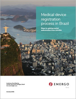 Medical device registration process in Brazil