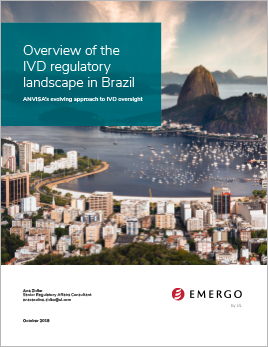 Overview of the IVD regulatory landscape in Brazil