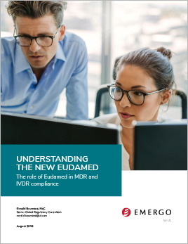 Download our white paper on the role of Eudamed under the MDR/IVDR.