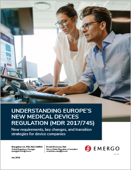 Download our white paper on Understanding Europe's New Medical Device Regulation