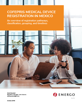 Mexico Medical device registration white paper