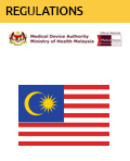 Download Regulations from the Medical Device Authority of Health Malaysia