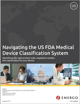 Navigating the FDA Classification System - a White Paper by Emergo