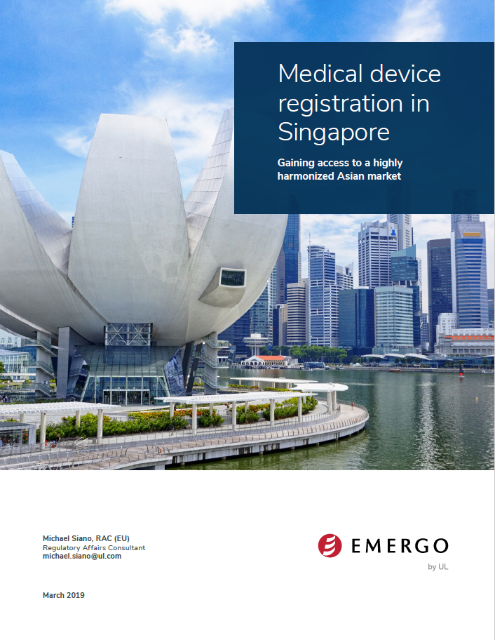 Medical device registration in Singapore