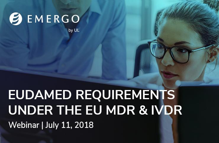 Register: Eudamed Webinar July 2018