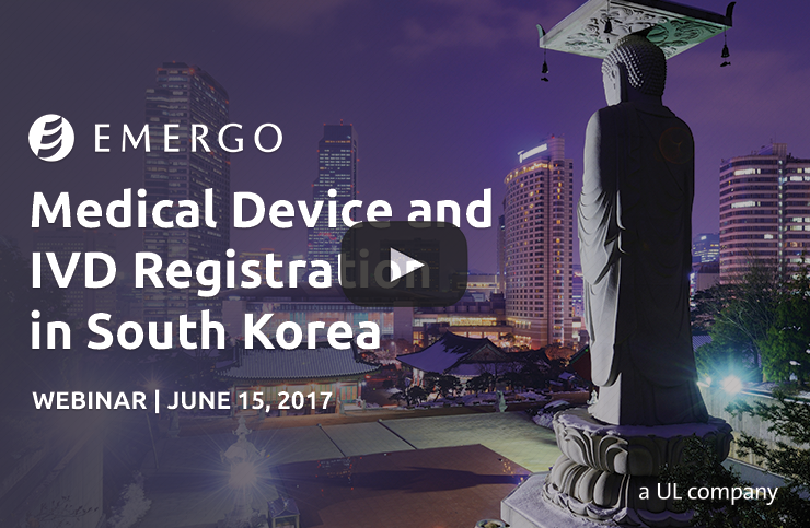 Register for our webinar: South Korea Medical Device Registration