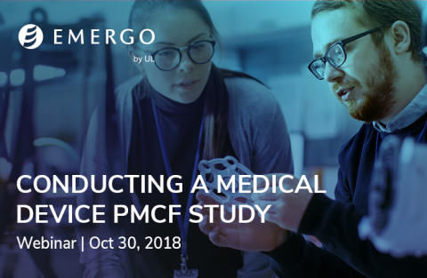 Conducting a medical device PMCF webinar