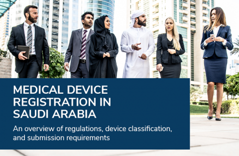 Medical device registration in Saudi Arabia