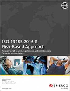 Download Emergy white paper - ISO 13485 risk-based approach