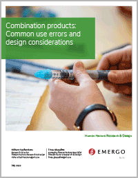 Combination products use errors white paper