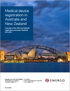 Medical device registration in Australia and New Zealand