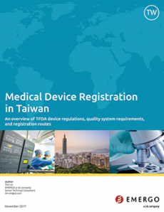 White paper cover - Taiwan device registration