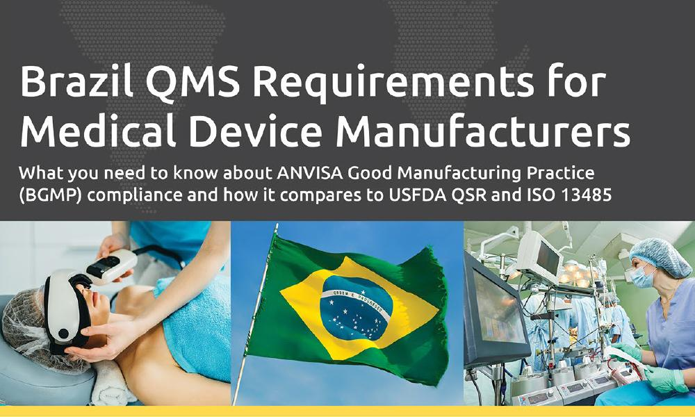 Download our free white paper on Brazil GMP Compliance For Medical Device Companies