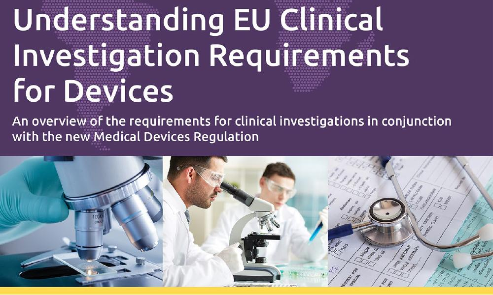 Download our free white paper on Clinical Investigation of Medical Devices