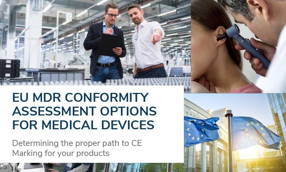 Download our white paper on EU medical device conformity assessments routes under the MDR.