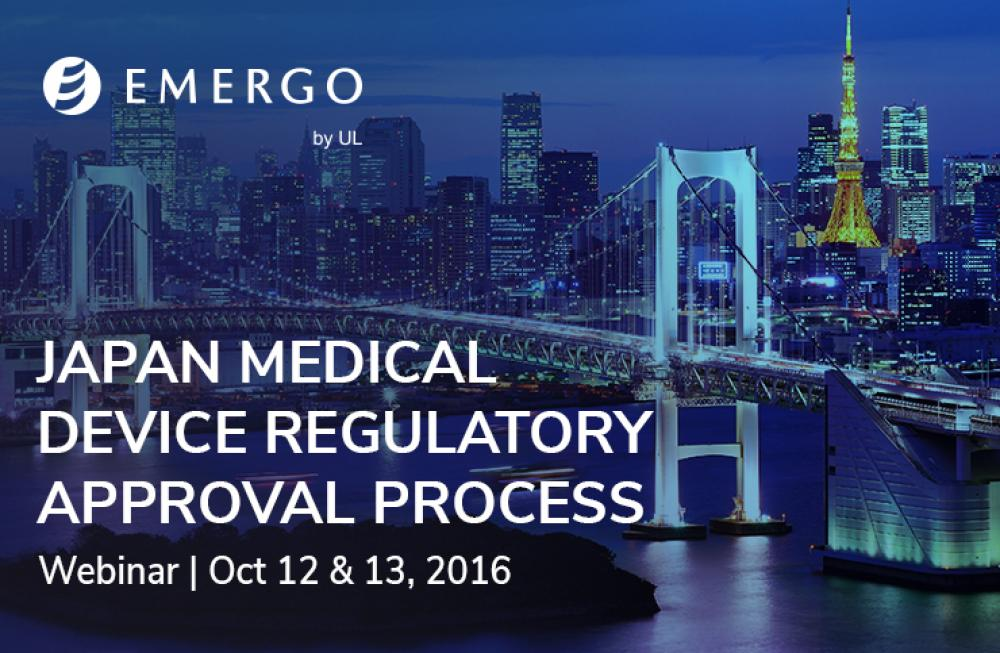 Watch our recent webinar on Medical Device Approval in Japan