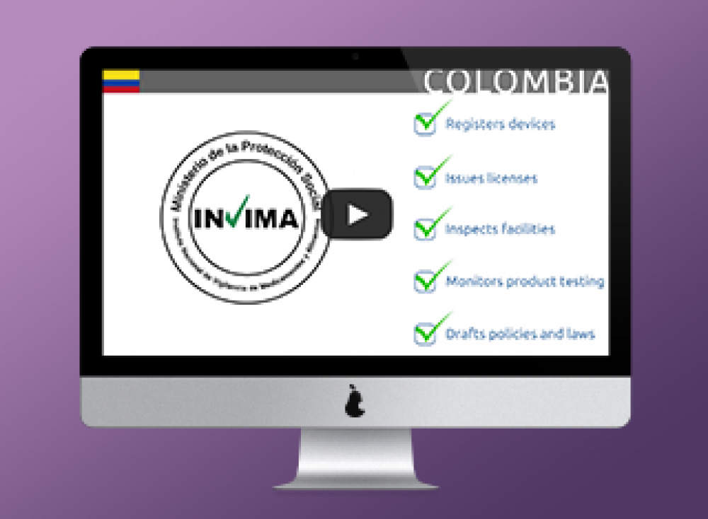 Watch this Short Video: Introduction to Colombia's medical device approval process
