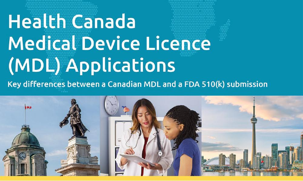 Download our white paper on Preparing a Health Canada MDL Application