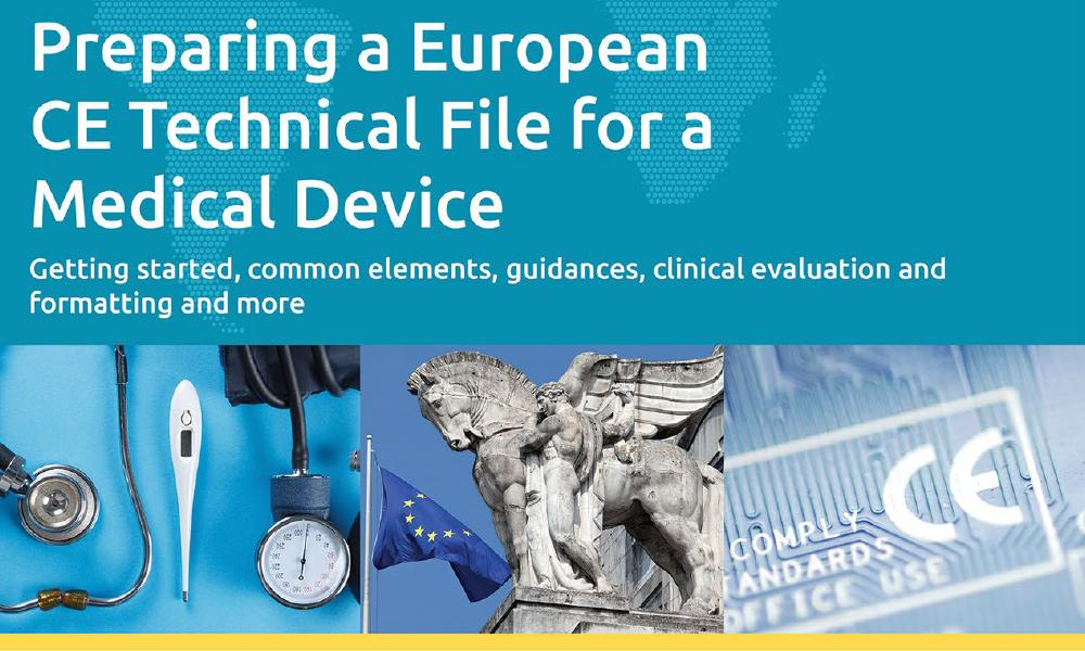 Download our white paper on Preparing a European CE Technical File for a Medical Device