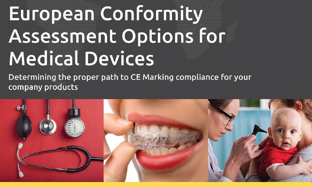 Download our white paper on CE Marking Conformity Assessment for Medical Devices