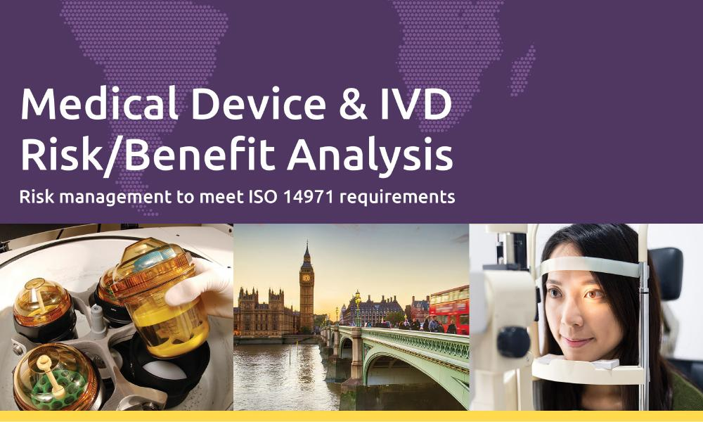 Download our white paper on ISO 14971 Medical Device and IVD Risk/Benefit Analysis