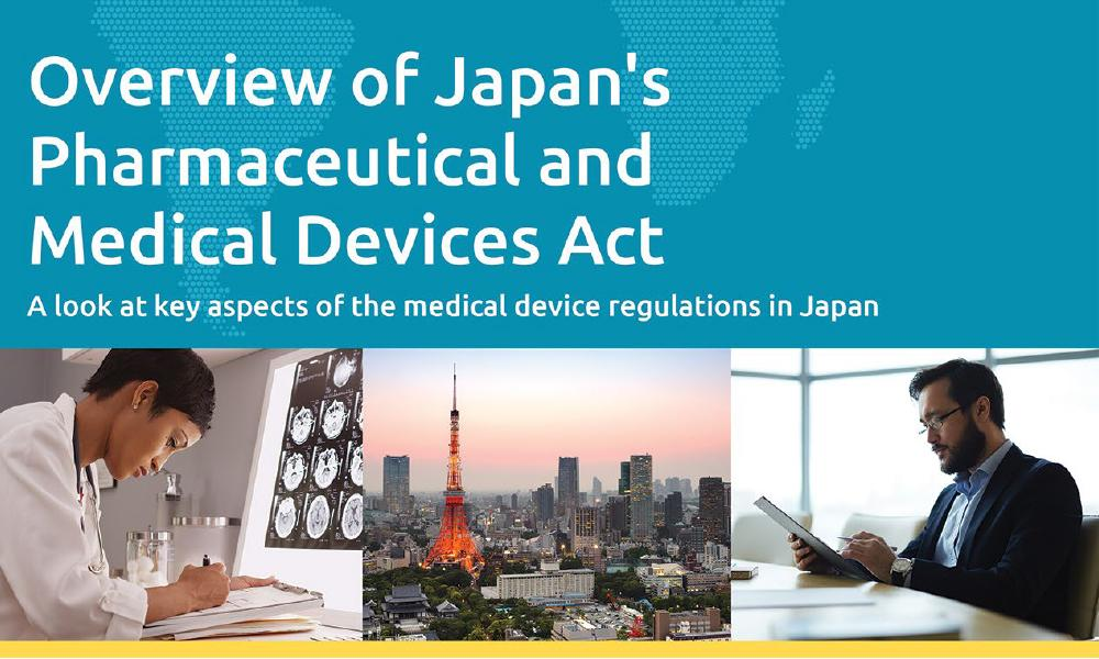 Download our white paper on Japan's Pharmaceutical and Medical Devices Act (PMD Act)