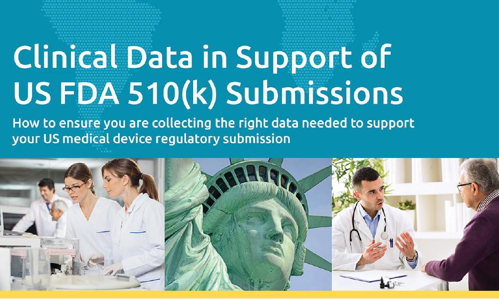 Download our white paper about Clinical Data in support of FDA 510(k) submissions