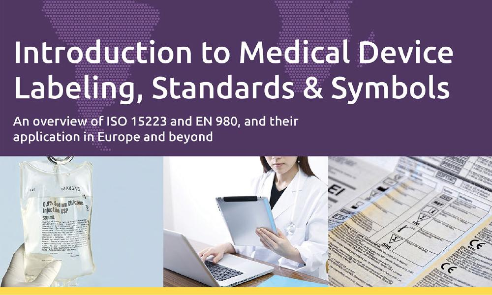 Download our white paper on Medical Device Labeling, Standards and Symbols