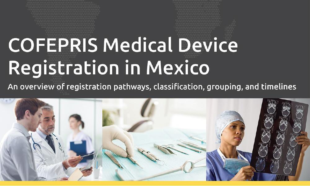 Download our white paper on COFEPRIS Medical Device Registration in Mexico