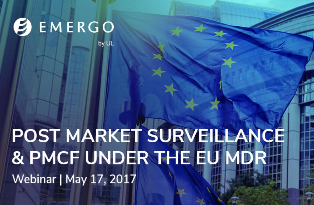 Register for our webinar: Post Market Surveillance & PMCF under the European MDR
