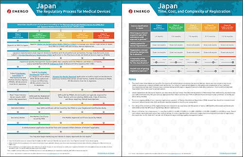 Download the Chart on the Medical Device Approval Process in Japan