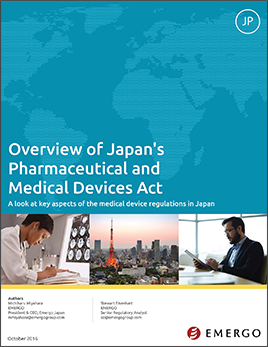 Download white paper - Overview of Japan's Pharmaceutical and Medical Devices Act